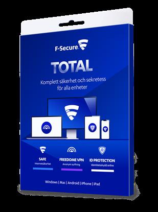 Bild på F-Secure Total 3 användare (årskostnad)